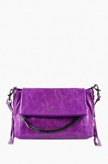 No B.S. Double Entry Crossbody, Violet