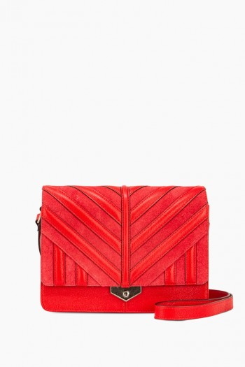 On The Rocks Crossbody, Cherry Red