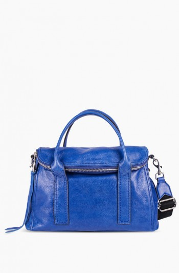 On My Way Satchel, Lapis Blue