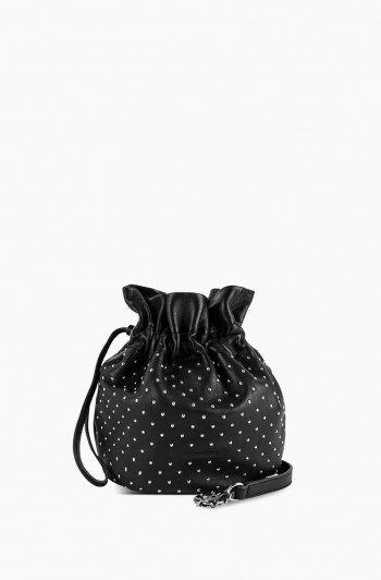 I'm a Queen Crossbody Pouch , Studded