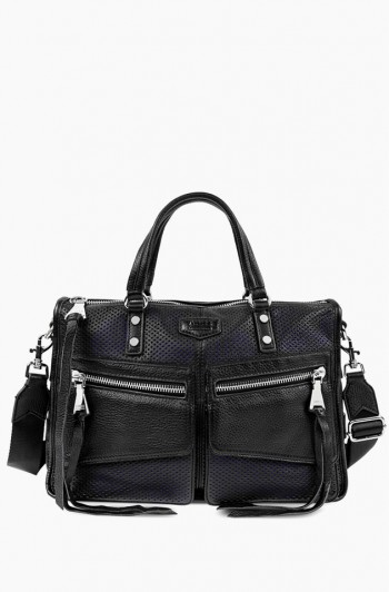 Road Trip Satchel, Black