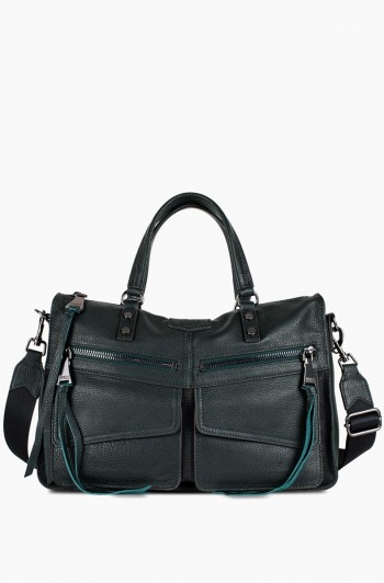 Road Trip Satchel, Majestic Green