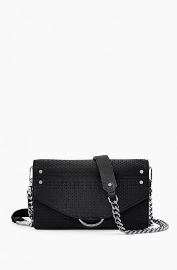 Road Trip Wallet on a Chain, Black