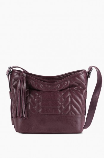Scene Stealer Bucket Bag, Vino