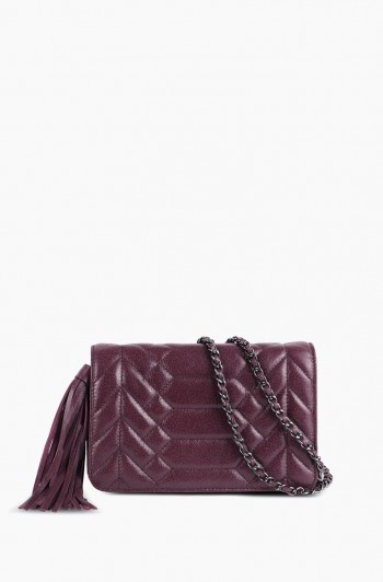 Scene Stealer Crossbody, Vino