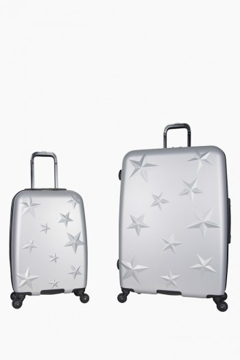 Star Journey Luggage Collection Duo, Silver