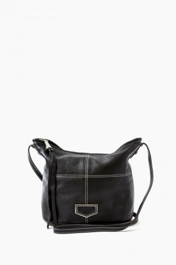 Sophie Bucket Crossbody, Black