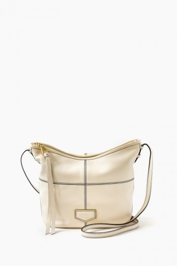 Sophie Bucket Crossbody, Vanilla