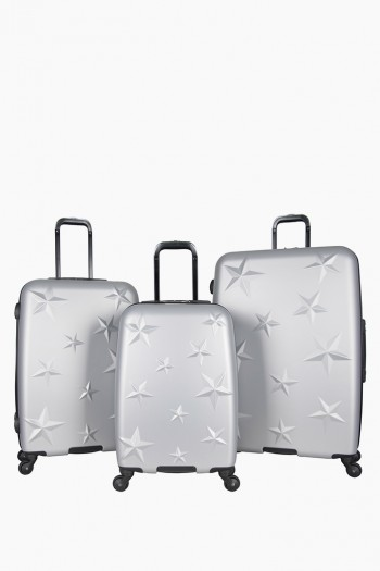 Star Journey Luggage Collection Trio, Silver