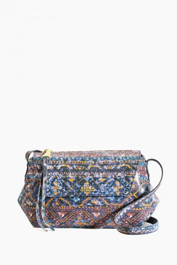 Sydney Crossbody, Navy Tapestry