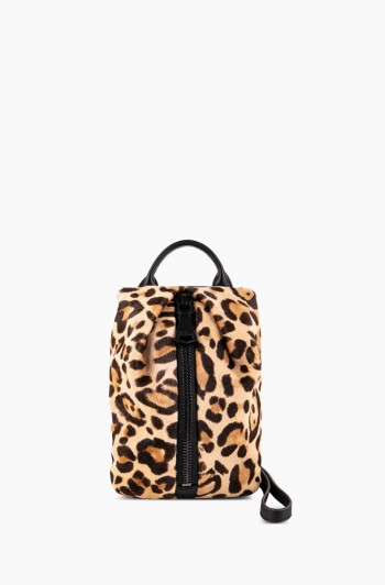 Tamitha Mini Crossbody, Jungle Leopard Haircalf