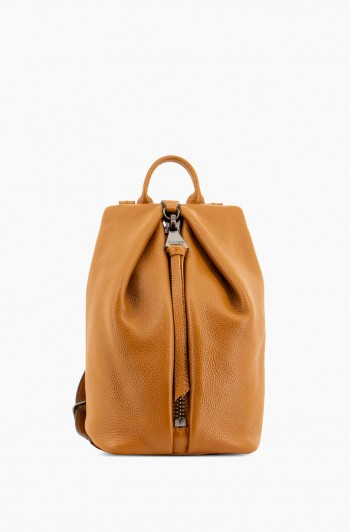 Mini Tamitha Backpack, Chestnut Brown