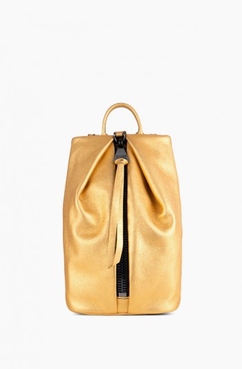 Mini Tamitha Backpack, Liquid Gold