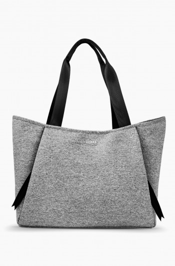 Care Free Neoprene Tote, Dusty Gray