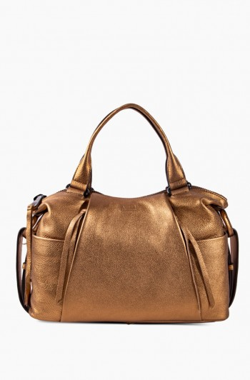 Tamitha Satchel, Metallic Bronze