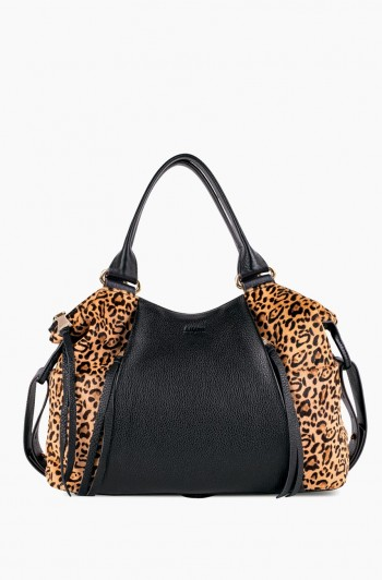 Tamitha Satchel, Small Leopard Haircalf
