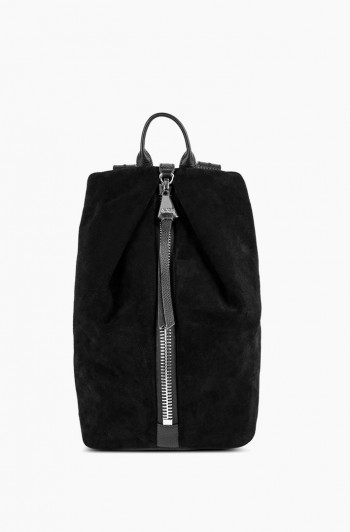 Tamitha Backpack, Black Suede