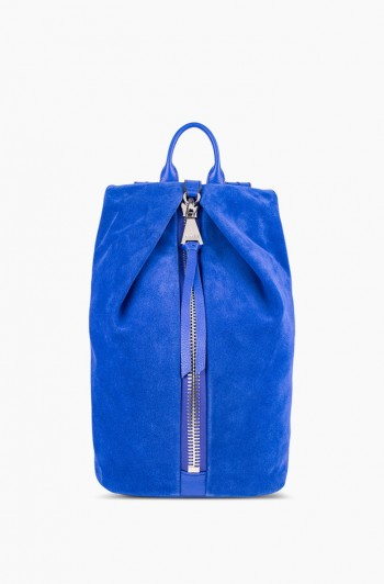 Tamitha Backpack, Lapis Blue Suede