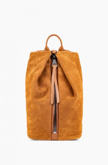 Tamitha Backpack, Camel Suede