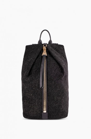 Tamitha Backpack, Glitter Suede