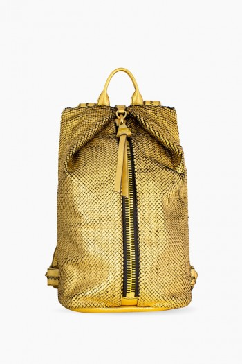 Tamitha Backpack, Gold Fish Scales
