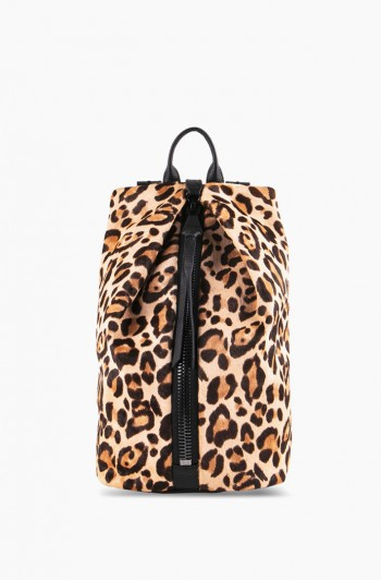 Tamitha Backpack, Jungle Leopard Haircalf