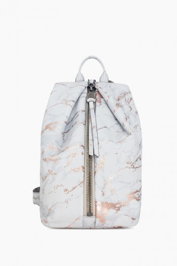 Tamitha Backpack, Light Rose Gold Marble