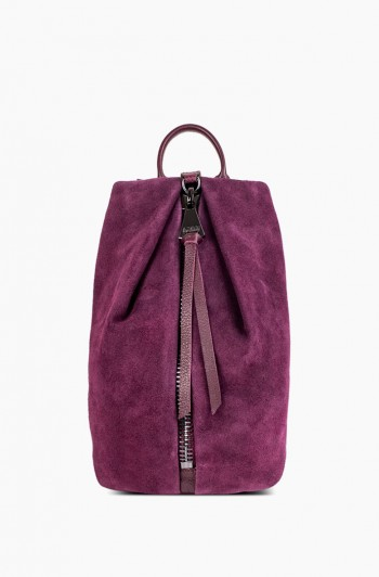 Tamitha Backpack, Vino Suede