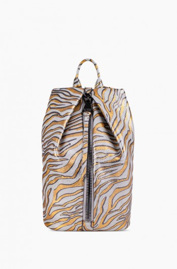 Tamitha Backpack, Metallic Zebra