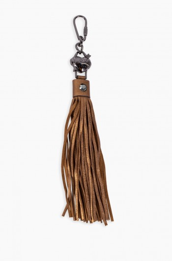 It's a Love Thing Tassel, Metallic Bronze