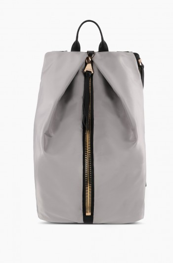 Tamitha Tech Backpack, Gray Nylon