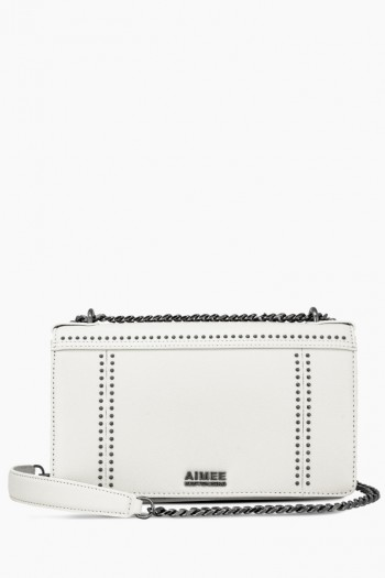 You're A Stud Large Crossbody, White