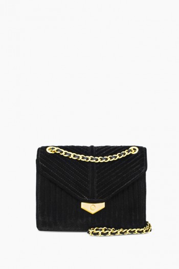 Velvet Dreams Convertible Shoulder, Black