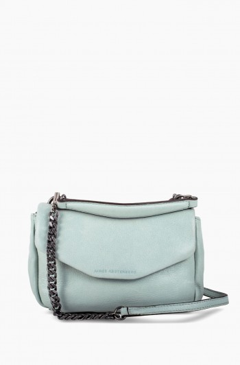 W33rd Mini Top Crossbody, Aquamarine