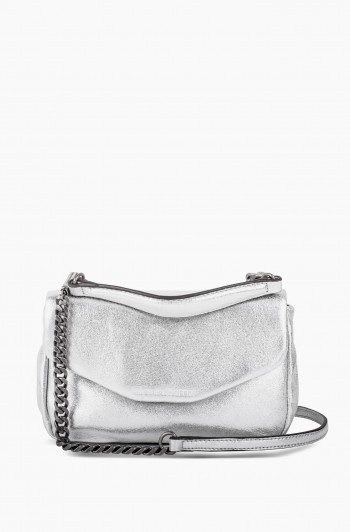 W33rd Mini Crossbody, Mosaic Silver