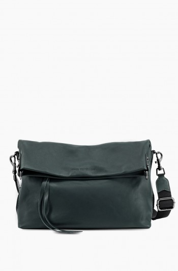 West 33rd Convertible Fold-over Crossbody, Majestic Green