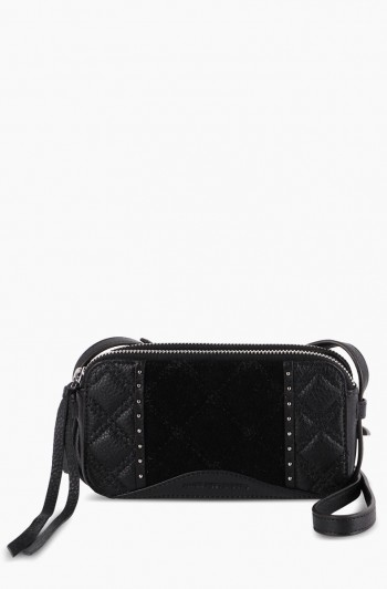 Wild at Heart Crossbody, Black