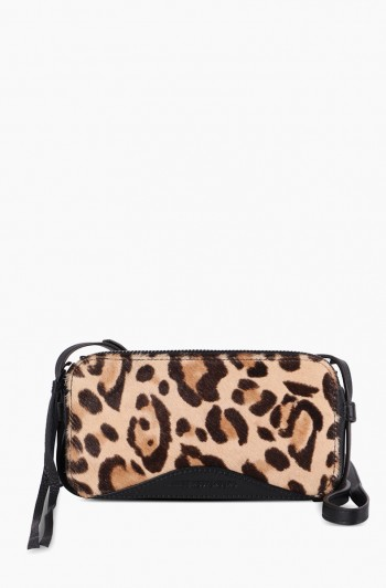 Wild at Heart Crossbody, Jungle leopard haircalf