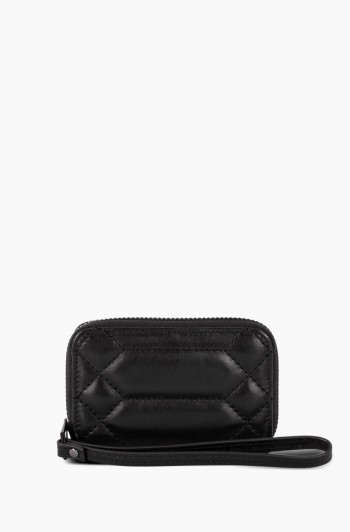 Dusk Till Dawn Zip Around Card Case, Black