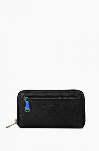 Zip it up Continental Wallet, Black