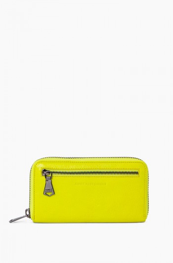 Zip it up Continental Wallet, Citrine