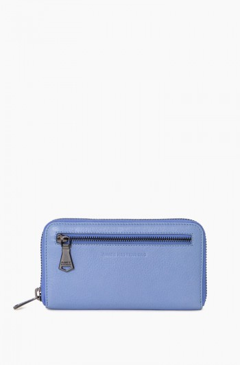Zip it up Continental Wallet, Periwinkle