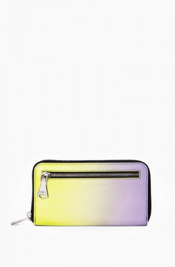 Zip it up Continental Wallet, Reef Ombre