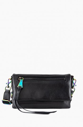 Zip Me Up Crossbody, Black