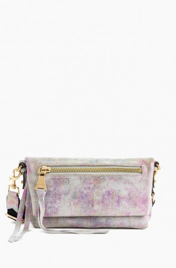 Zip Me Up Crossbody, Sunrise Metallic