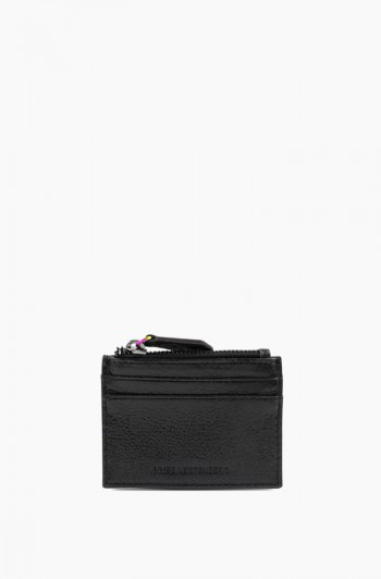 Zip it Up Card Case, Black