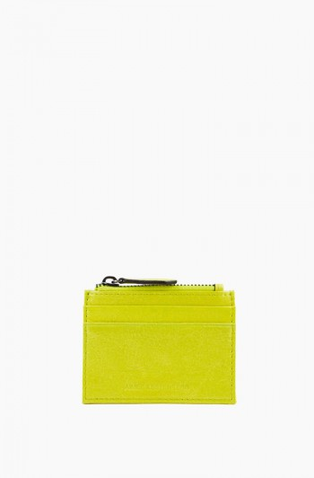 Zip it Up Card Case, Citrine