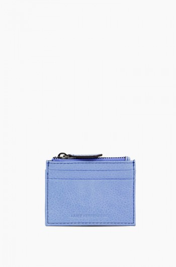 Zip it Up Card Case, Periwinkle
