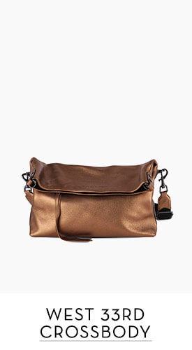 West 33rd Convertible Fold-over Crossbody